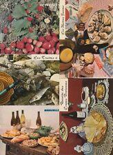 FOOD FRUIT COOKING 145 Cartes Postales 1900-1970 (70 pre-1940)
