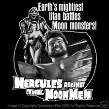 Hercules Against the Moon Men Alan Steel Sword and Sandal Monster Shirt NFT179