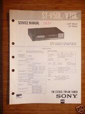 Service-Manual Sony ST-V50L/V70L Tuner ORIGINAL