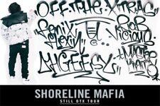 H154 Art Decor Shoreline Mafia Poster Hip Hop Rap Rapper Star