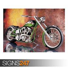 2005 SPECIAL CONSTRUCTION FXR (AC475) BIKE POSTER - Poster Print Art A0 A1 A2 A3