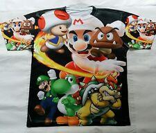 Super Mario Bros T Sublimated Shirt  bred powder legend video games classic