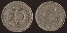 20 CENTESIMI 1919 ESAGONO - VITTORIO EMANUELE III