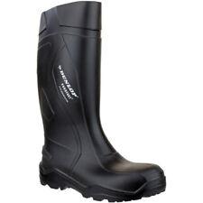 Dunlop Mens Purofort+ Plus Anti Slip SRC Safety Welly Wellington Boots