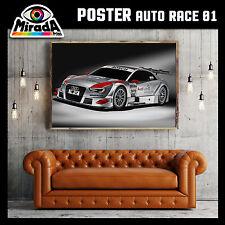 POSTER QUADRO AUTO RACE 01 AUDI CAR DRIFT CARTA FOTOGRAFICA 35x50 50x70 70x100