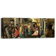 Botticelli adorazione del Re quadro stampa tela dipinto telaio arredo casa