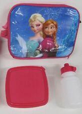 Elsa y Anna de Frozen Fiambrera Mochila Niña Colegio Guardería ROSA Picnic