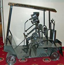 Sculture Unique  acier voiturette de golf pour intérieure/extérieure 1mx1m