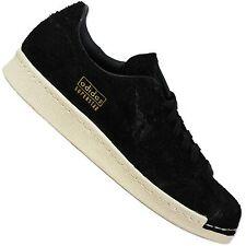 ADIDAS ORIGINALS superstar 80s Clean s82508 cortos señora zapatos negro Black