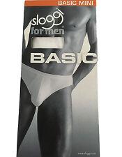 SLOGGI slip uomo mod BASIC MINI bianco 96% cotone 4% elastan