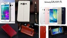 Flip Silm Tasche Etui Schutz hülle Klapp Case Cover Samsung GALAXY A3 Folie Tuch