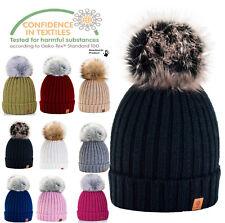 0b7fb9a25 Beanie Hats Synthetic Pom Pom for Women for sale | eBay