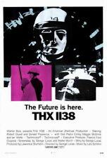 65985 THX 1138 Movie Robert Duvall, Donald Pleasence Wall Print Poster CA
