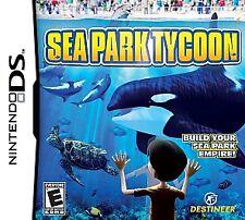 Sea Park Tycoon (Nintendo DS) Lite Dsi xl 2ds 3ds xl