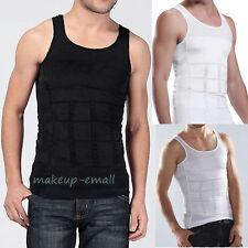 Men Body Slimming Shaper Belly Underwear shapewear Waist Girdle shirt Vest EM