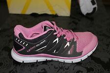Karrimor Flexible Zapatillas Mujer Negro Fucsia Nuevo con caja todos los tamaños