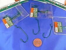 4 ami Duel Worm Hook per esche silicone varie misure pesca black bass, luccio