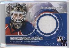 2011-12 In the Game Canada VS World IG-09 Roman Turek Czech Republic Hockey Card