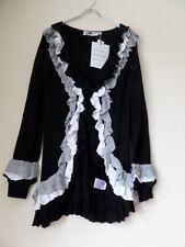 Y London Y592 Ladies Ruffle Trim Cardigan Size S/8