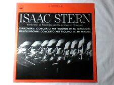 EUGENE ORMANDY ISAAC STERN Mendelssohn Ciaikovskij lp