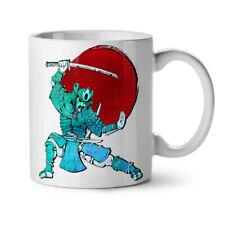 Ancient Warrior Art Japan Honor NEW White Tea Coffee Mug 11 oz | Wellcoda