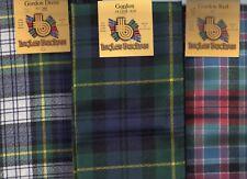 Scarf Clan Gordon Tartan Scottish Wool Plaid