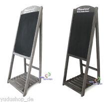 Kundenstopper Kreidetafel Tafel Holzaufsteller Werbetafel Werbeaufstelle Holz