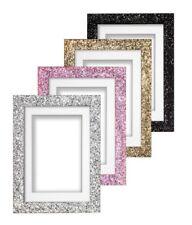 monté pailleté gamme Cadre photo brillant effet scintillant Cadre photo