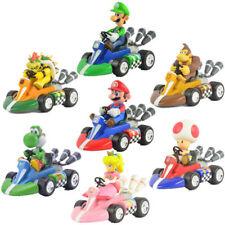 Super Mario Bros. Tirez Racers Racing Kart Voiture Toy Figure New in Box