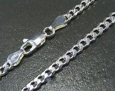 Panzerkette Silberkette 5mm Massiv Echt 925 Silber verschiedene Längen wählbar