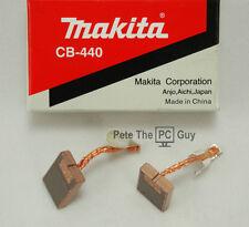 Makita 18V LXT Genuine CARBON BRUSH SET CB-440 for Impact Driver/Hammer Drill