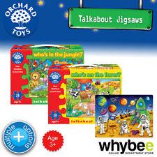Nouveau! orchard toys talkabout premier scies sauteuses puzzles-british enfants 3yrs+