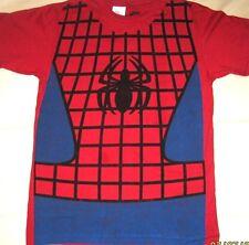 Marvel Comics Spider-Man SPIDERMAN Costume Style Tee Adult T-Shirt Licensed