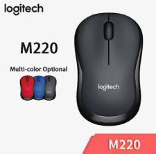 Logitech M220 Wireless Mouse Silent Mouse mit 2,4GHz ergonomische PC-Gaming-Maus