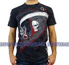 Affliction Tick Tock A13000 Men`s New Black T-shirt