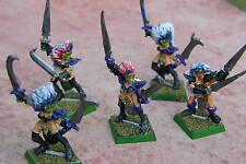 Warhammer Dark Elf, Bruja elfos Pintados, multi-listing