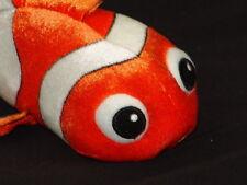 DISNEY FINDING NEMO ORANGE CLOWN FISH PLUSH STUFFED ANIMAL SCUBA DIVING REEF TOY