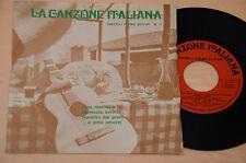 "OSCAR CARBONI ALFREDO CLERICI CARLO BUTI. 7"" 45(NO LP )4CANZONI ITALY 1970 EX"