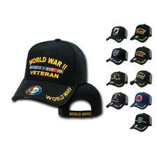 1 Dozen Veteran Vet Pow Us Military Baseball Hats Caps Wholesale Lot
