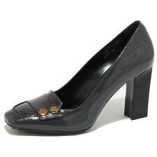 0486O decollete TOD'S BOTTONI ESAGONO grigio scarpe donna shoes women