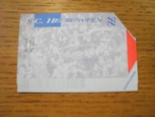 04/10/1998 Ticket: Heerenveen v NAC Breda (Very Faded). No obvious faults, unles
