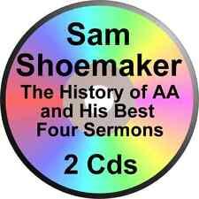 SAM SHOEMAKER HISTORY OF ALCOHOLICS ANONYMOUS OXFORD GROUP SERMONS 2 CDs  BILL W