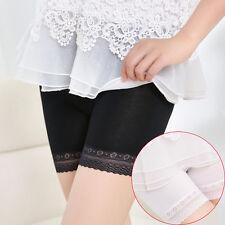 Fashion Women Lace Tiered Skirts Shorts Skirt Under Safety Pants Underwear Brief