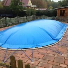 Abdeckplane aufblasbar für Ovalpools Winterplane Kuppel Pool Schwimmbad oval