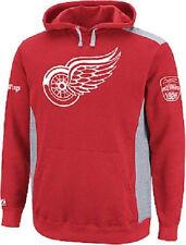 NHL kaputzenpullover hoody hooded Sweater Detroit Red Wings tiene truco hockey sobre hielo