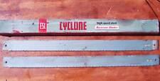 "2 pieces England HSS Power Hacksaw Blade, Cyclone ESC , 24"" x 1 3/4"" x 6T"