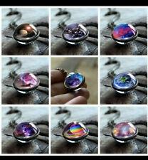 Halskette Nebula Space Glaskugel Anhänger Universum Galaxy / Deutscher Händler