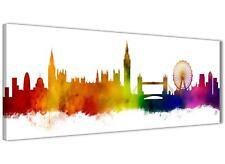 London Skyline Canvas Wall Art Print - 17 Colours Available - 94cm wide