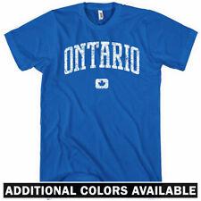 Ontario Canada T-shirt - Men S-4X Gift Toronto Hamilton Ottawa Windsor Kitchener