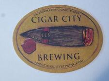 Beer Bar Coaster ~ CIGAR CITY Brewing ~ Tampa, Florida ~ See STORE for 1000s +++